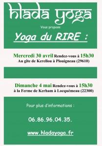 Affiche Yoga du rire2014